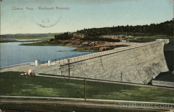 Wachusett Reservoir Clinton Massachusetts