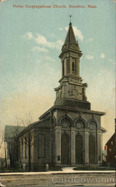 Porter Congregational Church Brockton Massachusetts