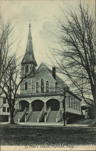 St Peter S Church Plymouth Ma Postcard