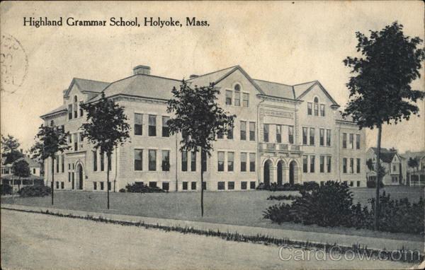 Highland Grammar School Holyoke Massachusetts