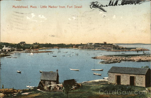 Little Harbor for Fort Sewall Marblehead Massachusetts