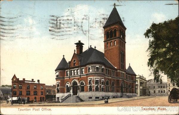 Taunton Post Office Massachusetts