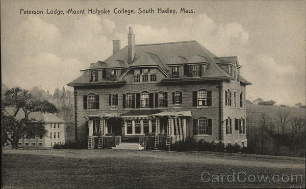 Peterson Lodge, Mount Holyoke College South Hadley Massachusetts