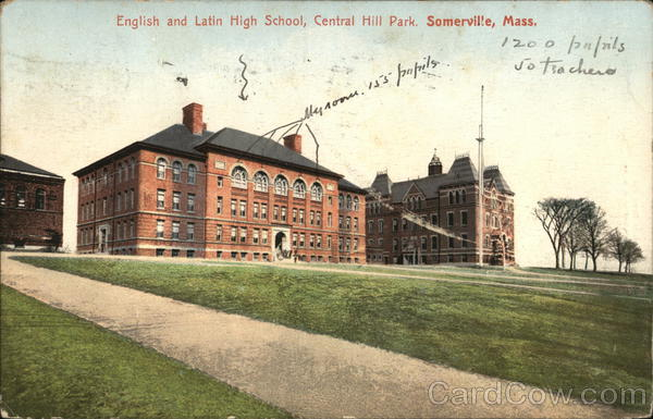 English and Latin School, Central Hill Park Somerville Massachusetts
