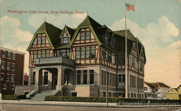 Washington Club House New Bedford Massachusetts