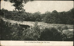 View of College from Bridge