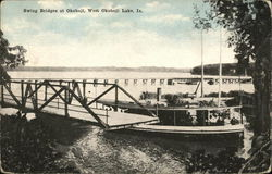 Swing Bridges at West Okoboji Lake