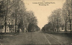 Galena Avenue, Looking North