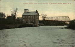 Power House, City Water Works on Mohawk River