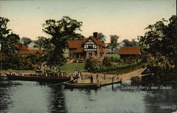 Eccleston Ferry and House, Near Chester