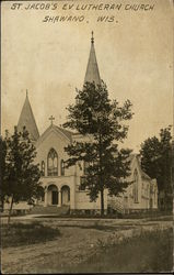 St. Jacob's Ev. Lutheran Church Postcard
