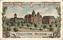 Chillicothe Normal, Commerical, Shorthand and Telegraphy Colleges