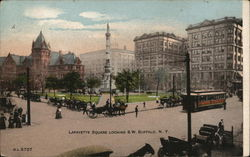 Lafayette Square Looking S.W.