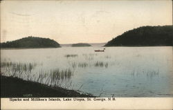 Sparks and Milliken's Islands, Lake Utopia