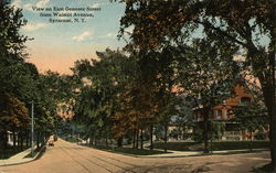 East Genesee Street from Walnut Avenue