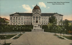 Academic Hall, State Normal School Postcard