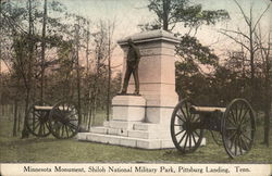 Minnesota Monument, Shiloh National Military Park