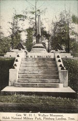 General W. H. L. Wallace Monument, Shiloh National Military Park