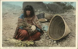 Supai Squaw Weaving Basket, Cataract Canyon
