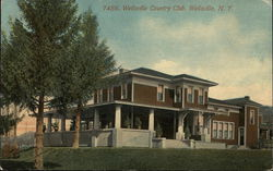 Wellsville Country Club Postcard
