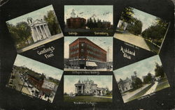 Greetings from Ashland Ohio Postcard