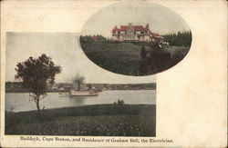 Baddeck, Cape Breton and Residence of Graham Bell, The Electrician