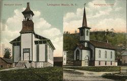 Methodist Church - Presbyterian Church Postcard