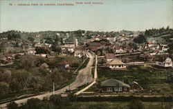 General View. From the High School Postcard