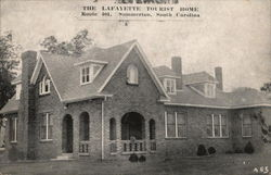 The Lafayette Tourist Home, Route 401