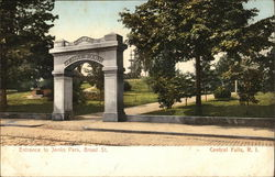 Entrance to Jenks Park, Broad Street