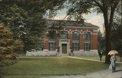 Vassar College - Biological Laboratory, New England Building