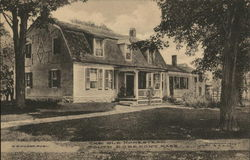 The Old Homestead Postcard