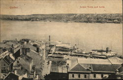 Lower Town and Levis