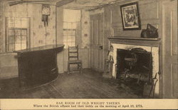 Bar Room of Old Wright Tavern