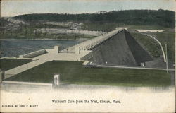 Wachusett Dam from the West