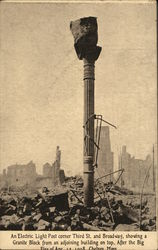 Electric Light Post, Great Chelsea Fire