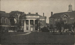 Radcliffe College - Library, Agassiz House and Gymnasium