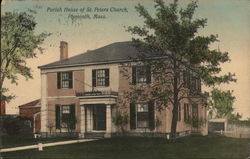 Parish House of St. Peters Church Postcard
