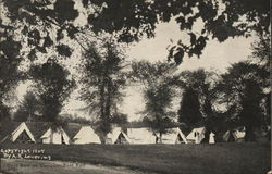 Tent Row on Campus, East End