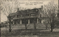 President's House Mount Holyoke College