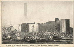 Ruins of Creedon Factory, Where Fire Started