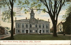 Court House showing New Registry Building