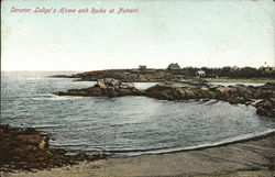 Senator Lodge's Home and Rocks at Nahant