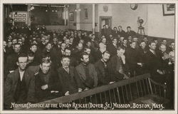 Midnight Service at the Union Rescue Mission, Dover Street