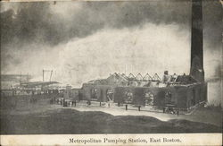 Metropolitan Pumping Station, East Boston