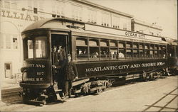 "The ""Snap"" Car Atlantic City & Shore RR Trolley Shore East Line"