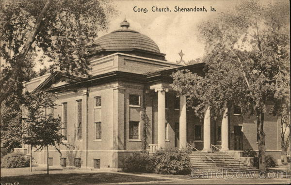 Congregational Church Shenandoah Iowa