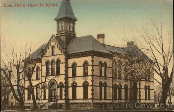 Court House Hiawatha Kansas