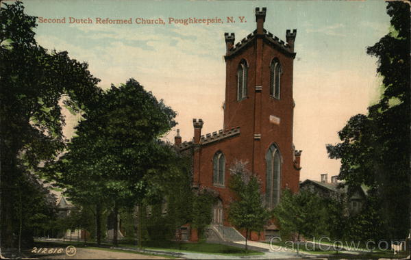 Second Dutch Reformed Church Poughkeepsie New York
