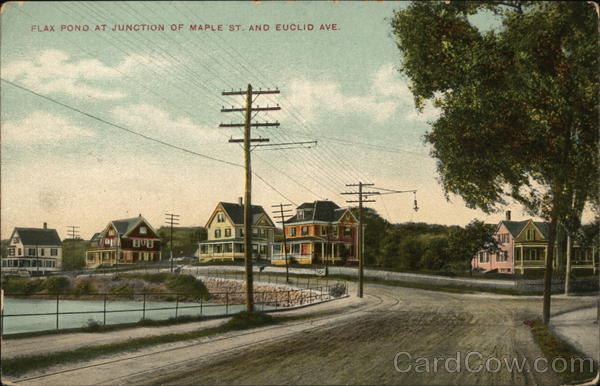 Flax Pond, Junction of Maple St. and Euclid Ave. Lynn Massachusetts